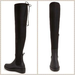 NWT Jeffrey Campbell OTK black boots